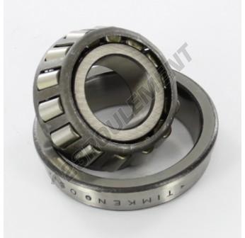 05079-05185B-TIMKEN - 20x47x14.38 mm
