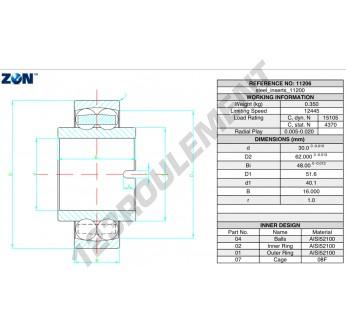 11206-ZEN - 30x62x48 mm