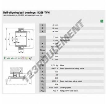 11208-TVH-FAG - 40x80x56 mm