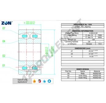 1204-ZEN - 20x47x14 mm