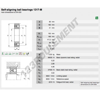 1317-M-FAG - 85x180x41 mm