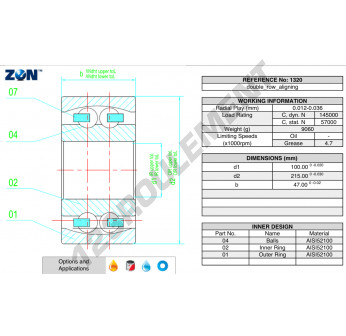 1320-ZEN - 100x215x47 mm
