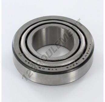 15126-15245-TIMKEN - 31.75x62x19.05 mm
