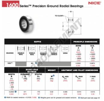 1602-SC-NICE - 6.35x17.46x7.94 mm
