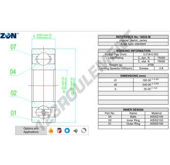16032-M-ZEN - 160x240x25 mm