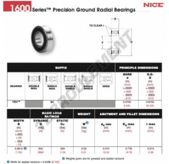 1604-SC-NICE - 9.53x22.23x8.73 mm