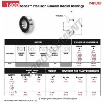 1604-SS-NICE - 9.53x22.23x7.15 mm