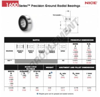 1607-NS-NICE - 11.11x23.02x7.94 mm