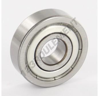 16100-ZZ-FAG - 10x28x8 mm