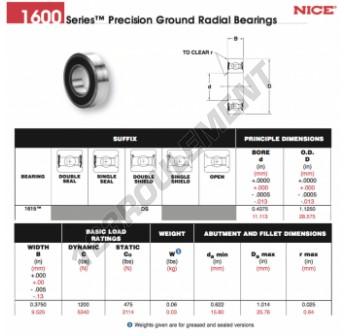 1615-DS-NICE - 11.11x28.58x9.53 mm