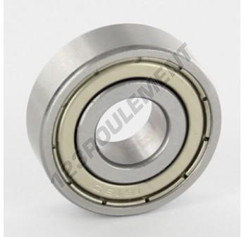 1615-ZZ - 11.11x28.58x9.53 mm