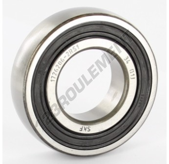 1726206-2RS1-SKF - 30x62x16 mm