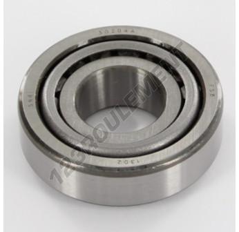 30204-A-SNR - 20x47x15.25 mm