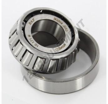 30204-J2-Q-SKF - 20x47x15.25 mm