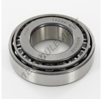 30206A-FAG - 30x62x17.25 mm