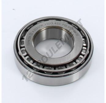 30207-M-TIMKEN - 35x72x18.25 mm
