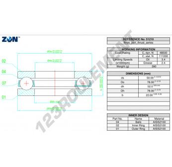 51310-ZEN - 50x95x31 mm