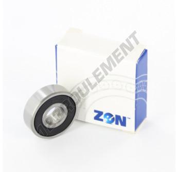 608-2RS-ZEN - 8x22x7 mm