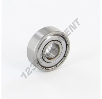 608-ZZ-ABEC1 - 8x22x7 mm