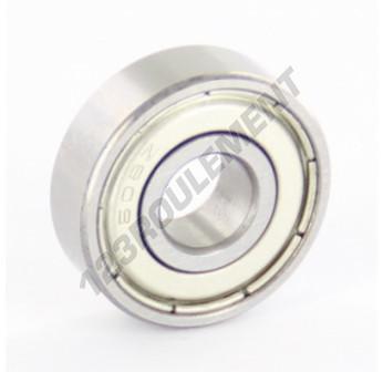 608-ZZ-C3 - 8x22x7 mm
