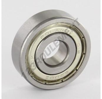 6200-ZZ - 10x30x9 mm