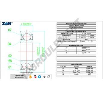 6210-2RS-CS-ZEN