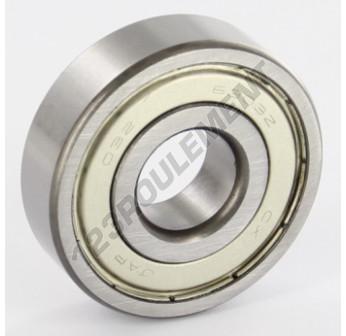 6303-ZZ - 17x47x14 mm