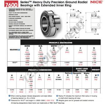 7610-DL-NICE - 15.88x25.63x15.88 mm