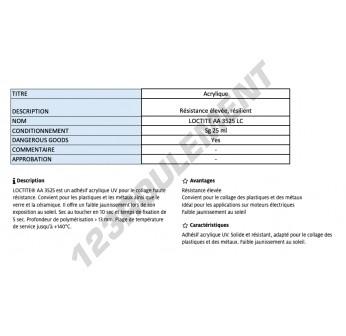 AA-3525-LC-25ML-LOCTITE