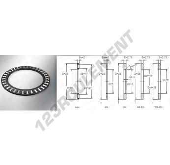 AXK1528 - 15x28x2 mm