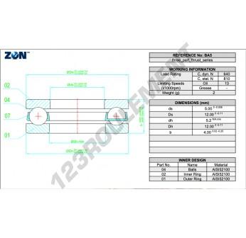 BA5-ZEN - 5x12x4 mm
