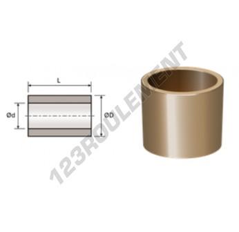 BAI19.05-22.225-31.75 - 19.05x22.23x31.75 mm