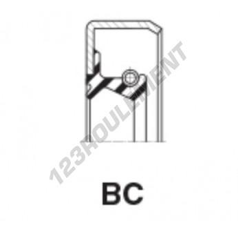 BC-100X120X15-MVQ - 100x120x15 mm