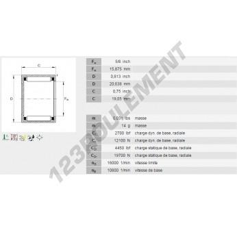 BCE1012-INA - 15.88x20.64x19.05 mm