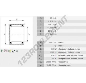 BCE65-INA - 9.53x14.29x7.92 mm