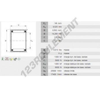 BCE68-INA - 9.53x14.29x12.7 mm