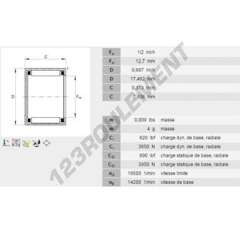 BCE85-INA - 12.7x17.46x7.92 mm