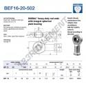 BEFL16-20-DURBAL