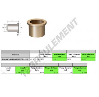 AJ101420 - 15.88x22.23x31.75 mm