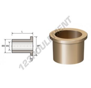 BFMG16-22-28-3-16 - 16x22x16 mm