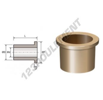 BFMG30-38-46-4-30 - 30x38x30 mm