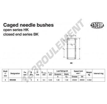 BK0408-NADELLA - 4x8x8 mm