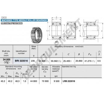 BRI223516-IKO - 34.93x55.56x25.65 mm