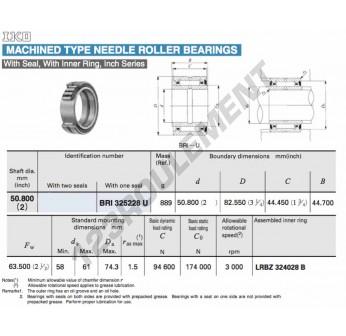 BRI325228-U-IKO - 50.8x82.55x44.45 mm