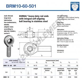 BRM10-60-501-DURBAL