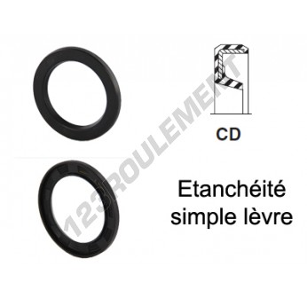 CD-17X24X3-NBR - 17x24x3 mm