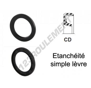 CD-20X30X4-NBR - 20x30x4 mm