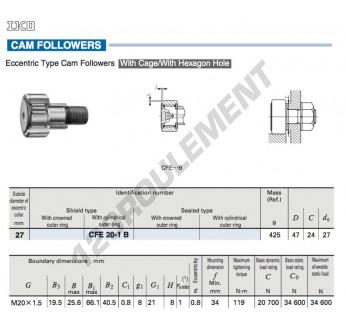 CFE20-1-B-IKO - 27x47x24 mm