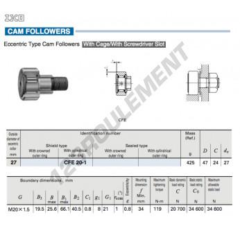 CFE20-1-IKO - 27x47x24 mm
