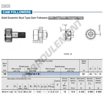 CFES10-1-B-IKO - 10x26x12 mm